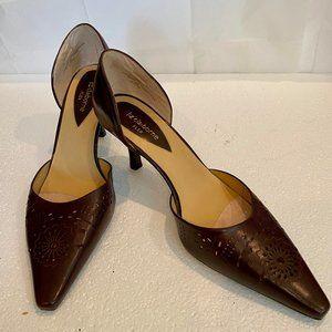 """Liz Claiborne Flex """"Pueblo"""" Heels,  9.5 *NEW*"""